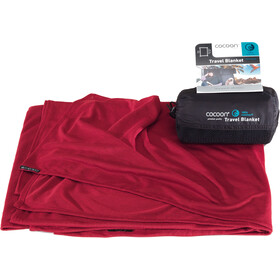 Cocoon Travel Blanket coolmax monk's rouge